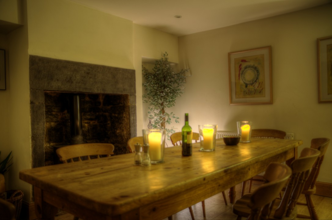 Derbyshire cottage dining room